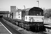 58023 (Monochrome Rail) Tags: 58023 br british railways type5 diesel locomotive engine traction train railway class58 ruston paxman brush bone coal sector mgr merrygoround haa hopper monochrome black white uk rail edengrove