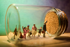 People waiting for the bus in a bottle | HMM (Ariadna Escoda) Tags: baixcamp cambrils costadaurada gente hmm happymacromonday inabottle invierno macromonday macromondayinabottle macrophotography monday reus tarragona bottle campdetarragona colourful handmade kid macro macrolens macrofotografia macrofotografía nature people small television