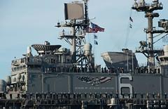 180202-N-FR671-0019 (U.S. Pacific Fleet) Tags: america lha6 sailors usnavy ussamerica amphibiousassaultship homecoming ship unitedstates us