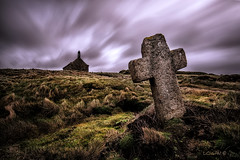 The road to spirituality XXI. (darklogan1) Tags: cross church bretagne france brittany clouds longexposure sonya7r2 canon1635f4 mistery granite logan darklogan1 rain saintsamson chapel landunvez stonecross