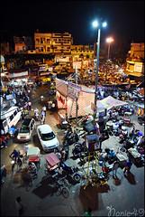 PaharGanj by night, Delhi, India. (nanie49) Tags: delhi newdelhi streetlife nuit night nightlife rue street calle inde india asia asie nikon d750 nanie49 paharganj noche marché market mercado
