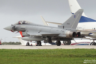 Oman Air Force --- Eurofighter Typhoon EF2000 --- ZR406