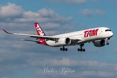 PR-XTB (Hector A Rivera Valentin) Tags: prxtb latam airlines tam brasil airbus a350 a350941 a35 cn 027 rr trent xwb linhas aéreas avgeek spotter planespotting