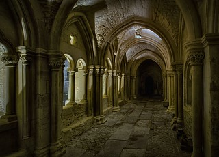 night in the cloister