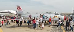 North American F-86F Sabre - Royal Thai Air Force 1325/5093 (Gösta Knochenhauer) Tags: 2018 january panasonic lumix fz1000 dmcfz1000 bangkok thai thailand royal air force aircraft plane museum p9130482nik p9130482 nik north american f86f sabre 5093 childrens day 13255093 1325