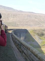 The North Briton railtour on Ribblehead Viaduct (Jon Horrocks) Tags: thenorthbriton settleandcarlislerailway ribbleheadviaduct 66014 60163 tornado class66