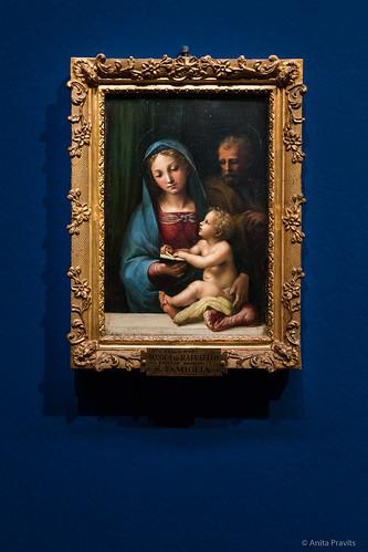 Raffael (zugeschrieben / attributed to): Madonna del Libro, c 1512