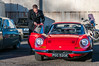1971 Ferrari Dino 246GT - PGC 520K (Trackside70) Tags: 2018 bicester bicesterheritage sundayscramble january classic classiccars sportscars sunshine cars historic automobile nikond300s nikonafsdxnikkor1685mmf3556gedvr polariser garywalton