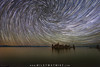 Vortex Over Mono Lake (Mike Ver Sprill - Milky Way Mike) Tags: vortex star trails startrails startrail trail polaris north california mono lake water night sky dark skies lee vining south tufa landscape nature