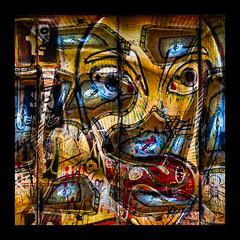 Zombie Fall 2018 - Things That Make No Sense (GAPHIKER) Tags: zombie zombies art graffiti berlinwall berlin wall newyorkcity nyc building lines blue clouds pattern abstract happyslidersunday hss 53rdstreet madisonave franklin institute philadelphia pennsylvania clock earth time eyes pendulum steps wavy thingsthatmakenosense