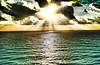 DSCF0113 (garofano_richard) Tags: seascape clouds sun seawater rays sunburst mexico cancun skyline morning