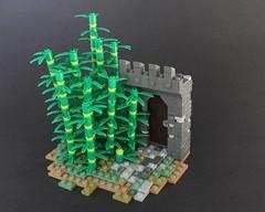 Jungle Castle (-Matt Hew-) Tags: lego castle kingdoms minifigure bamboo technique