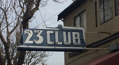 23 CLUB BRISBANE CA. (ussiwojima) Tags: 23club club bar cocktail lounge restaurant brisbane california neon advertising sign