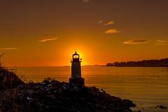 Salem Sunrise (LindaGrantPhotography) Tags: salem massachusetts sunrise winterislandlighthouse lighthouse winterisland wintersunrise