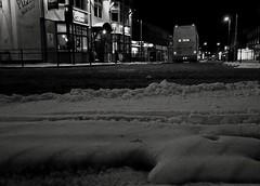 Snow In the Suburbs. March 2018 (SimonHX100v) Tags: snow snowfall perspective night nighttime nightimages nightphotography street candid streetphotography streetphoto streetphotographer photography streetstyle urban blackandwhite blackwhite monochrome monotone greyscale grayscale bw bnw nottingham nottinghamshire arnold arnoldnottingham beastfromtheeast england winter winter2018 march march2018 cold nightscene nightshot nightshooters evening simonhx100v sonydschx100v sonyhx100v hx100v sonycybershotdschx100v