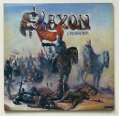 A0519 SAXON Crusader FOC (vinylmeister) Tags: vinylrecords albumcoverphotos heavymetal thrashmetal deathmetal blackmetal vinyl schallplatte disque gramophone album