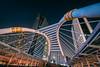Chong Nonsi (21mapple) Tags: chongnonsi chong nonsi bkk bangkok bridge sky skyscraper skyline night nightscape