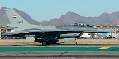 F-16C-52+  1627  Iraqi AF (C.Dover) Tags: 152ndfs cnra19 f16c52 falcon iraq 1627 iaf lockheedmartin iraqiaf fms130022 tucsoniap