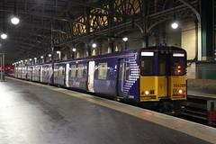 314209 5W56 21:50 Glasgow Central to Corkerhill C.S.M.D.; Glasgow Central; 04-03-2018 (graeme8665) Tags: emu abellioscotrail scotrail glasgowcentral