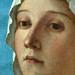BELLINI Giovanni,1487 - La Vierge et l'Enfant entre Saint Pierre et Saint Sébastien (Louvre) - Detail 10