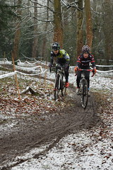 DSC_0103 (sdwilliams) Tags: cycling cyclocross cx misterton lutterworth leicestershire snow