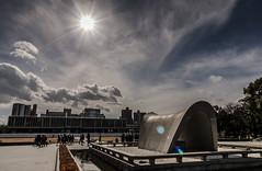 The Sky of Hiroshima ヒロシマの空 (Sign-Z) Tags: nikon d7000 afsdxnikkor1680mmf284eedvr 1680mmf284evr hiroshima peacememorialpark 広島県 広島市 平和記念公園 空 sun 太陽