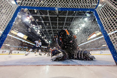 "Kansas City Mavericks vs. Toledo Walleye, January 20, 2018, Silverstein Eye Centers Arena, Independence, Missouri.  Photo: © John Howe / Howe Creative Photography, all rights reserved 2018. • <a style=""font-size:0.8em;"" href=""http://www.flickr.com/photos/134016632@N02/39839492291/"" target=""_blank"">View on Flickr</a>"