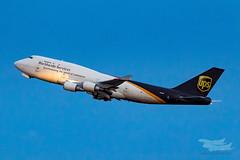 N578UP 5X B747BCF 34L YSSY-4474 (A u s s i e P o m m) Tags: mascot newsouthwales australia au ups 5x boeing b747bcf b747 queenoftheskies syd yssy sydneyairport