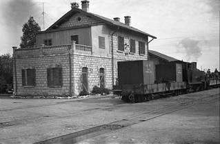 Hedjaz Railway (Samaria section) - Australian troop train in 1941