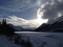 Clouds .. (Mr. Happy Face - Peace :)) Tags: art2018 rockies yyc banff canmore wilderness mountains snowcaps scenery lanscape snow sun cloud sky