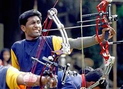 Abhishek Thaware…un sorriso che scaglia le frecce! (Non solo calcio) Tags: sport storie atletica calcio concentrazione destino nazionale paralimpiadi real successo