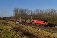 66001-AstonFields-26.1.18 (shaunnie0) Tags: 6o42 66001 dbc dbs class66 astonfields generalmotors gm carcarriers