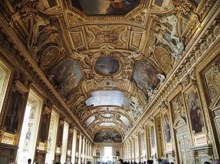 The Louvre; Galerie d'Apollon