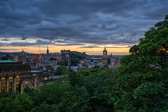 Edinburgh Skyline (Retouched) (MilesGrayPhotography (AnimalsBeforeHumans)) Tags: 1635 fe1635mm sonyfe1635mmf4zaoss architecture auldreekie a7ii britain balmoralclocktower balmoral city cityscape castle castlerock edinburghcastle caltonhill dusk edinburgh europe evening fe f4 glow graveyard historic historicscotland iconic ilce7m2 unesco landscape lens monument memorial nighfall outdoors old oss oldtown photography photo photographer rocks ruins royalmile scotland sky scenic skyline scottish scottishlandscapephotography princesstreet town twilight trees uk unitedkingdom wide zeiss summer sony sonya7ii