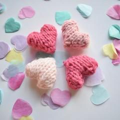 Love Hearts (Knitting patterns by Amanda Berry) Tags: valentines valentine hearts heart knits knit knitted knitters knitter knitting pattern patterns free love loveknittingcom loveknitting flat straight dk pink amanda berry crafts craft making makers makes handmade