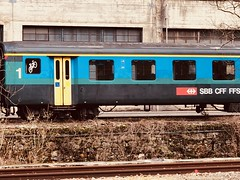 EW I Papagei (Kevin Biétry) Tags: iphonex kevinbiétry vieuxtrain train voiture coach sexy sex klus balsthal sbbcffffs ffs cff sbb perroquet papagei vui ewi i ew