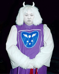 Kim Jong Furry (Evan.Safari) Tags: kim korea furry undertale furryfandom anthrocon kimjongun jong un white fur hair costume cosplay videogame game video designer photoshop