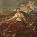 POUSSIN Nicolas,1627-28 - Le Triomphe de Flore (Louvre) - Detail 004