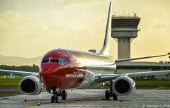 Park (Maxime C-M ✈) Tags: airplane golden travel norway colors martinique caribbean beautiful reflection tower island stop afternoon aviation passion