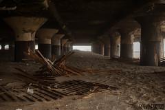 Under the boardwalk (SMPhotos2548) Tags: sand beach pier asburypark asbury nj newjersey hidden