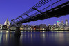 The Path to St Pauls (gemmawhite1) Tags: st pauls london bridge millenium