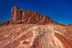 Valley of Fire 5758 C (jim.choate59) Tags: desert valleyoffire firewavetrail nevada lasvegas jchoate pattern rock sandstone on1pics d610