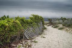 "Fort Macon NC Beach The Storm Rolls In (Modkuse) Tags: rollcloud ""rollcloud"" fortmaconbeachnorthcarolina dslr nikond700 tokina nikondslr tokinaaf2870mmf2628 nikon fortmacon clouds nc northcarolina fortmaconbeach beach storm"
