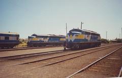 B61 S302 Warrnambool (tommyg1994) Tags: west coast railway wcr emd b t x a s n class vline warrnambool geelong b61 b65 t369 x41 s300 s311 s302 b76 a71 pcp bz acz bs brs excursion train australia victoria freight fa pco pcj