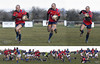 Tracking a player at 10 Frames per second and zooming out at the same time... (EXPLORED) (cjpk1) Tags: rugby union try score athlete sports dynamic powerful condition