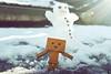 Danbo by RK (6) @winter2018 (Robert Krstevski) Tags: robertkrstevskiblogspotcom robkrst robertkrstevski robertkrstevskiblogspotmk danbo danboard danbomacedonia danbostory danborou danboamazon snow winter winter2017 snow2017 light nikon nikond3300 europe balkan macedonia travel revoltech robot robots minimalisam funny cute данбо life