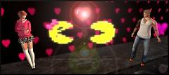 Snapshot_032 (2) (ReenaStark) Tags: secondlife sl avatar avatars avi avis virtualreality valentine valentinesday couple couples man men guy guys women woman lady ladies girl girls love holiday holidays pacman heart hearts