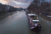 Péniche (MrBlackSun) Tags: snow paris feb2018 seine laseine floods notredame nikon d810
