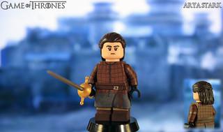 Custom LEGO Game of Thrones | Arya Stark