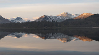 Derwent water reflection